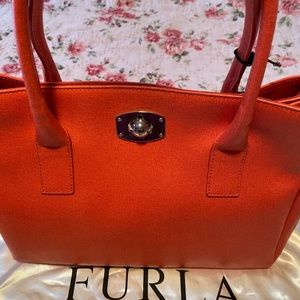 Furla bag.  Coral colored.  New with tag.